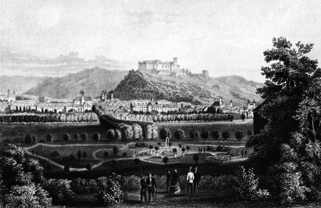 Lauterbach,_H._-_Ljubljana_iz_Tivolija_(jeklorez,_ok._1855)