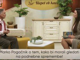 Marko Pogačnik o tem, kako bi morali gledati na podnebne spremembe
